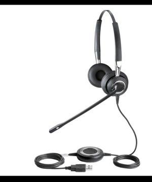 Jabra BIZ 2400 USB UC Duo Corded Headset for Sale in Bellevue, WA