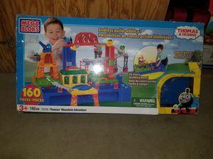 Thomas' Mountain Adventure Mega Bloks Lego set train used for Sale in Minneapolis, MN