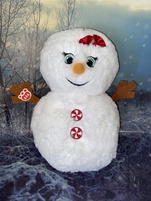 "Build A Bear 12"" Snow Cute Snowman Plush for Sale in Bellflower, CA"