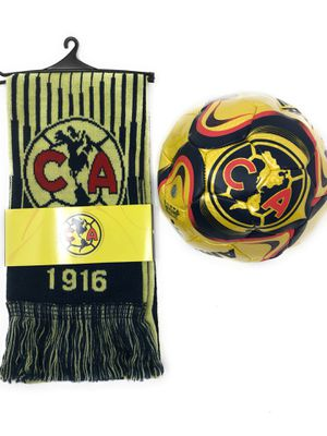 Club America Soccer Futbol official Scarf and Ball Bundle Aguilas for Sale in Petaluma, CA