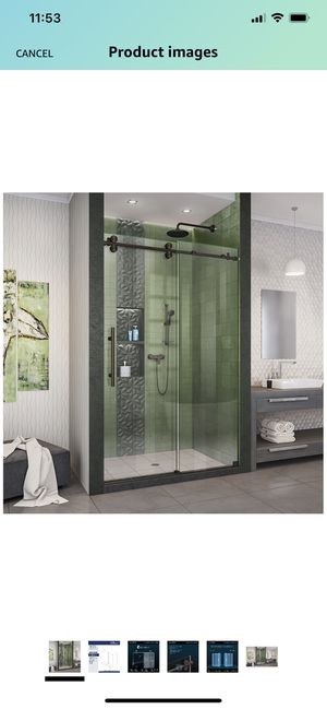 Oil Rubbed Bronze Shower Door for Sale in Annapolis, MD