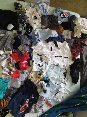 Lot of 50 items baby boy 3-6 m for Sale in Brandon, FL