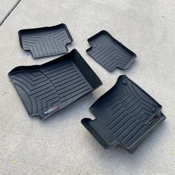 Weathertech Floor Liners Front & Rear, Mercedes C-Class for Sale in Aurora,  IL