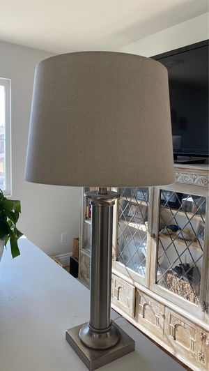 Stainless steel lamp for Sale in Redlands, CA