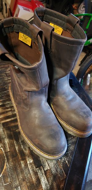 Dr. Martin steel toe work boots for Sale in Amarillo, TX