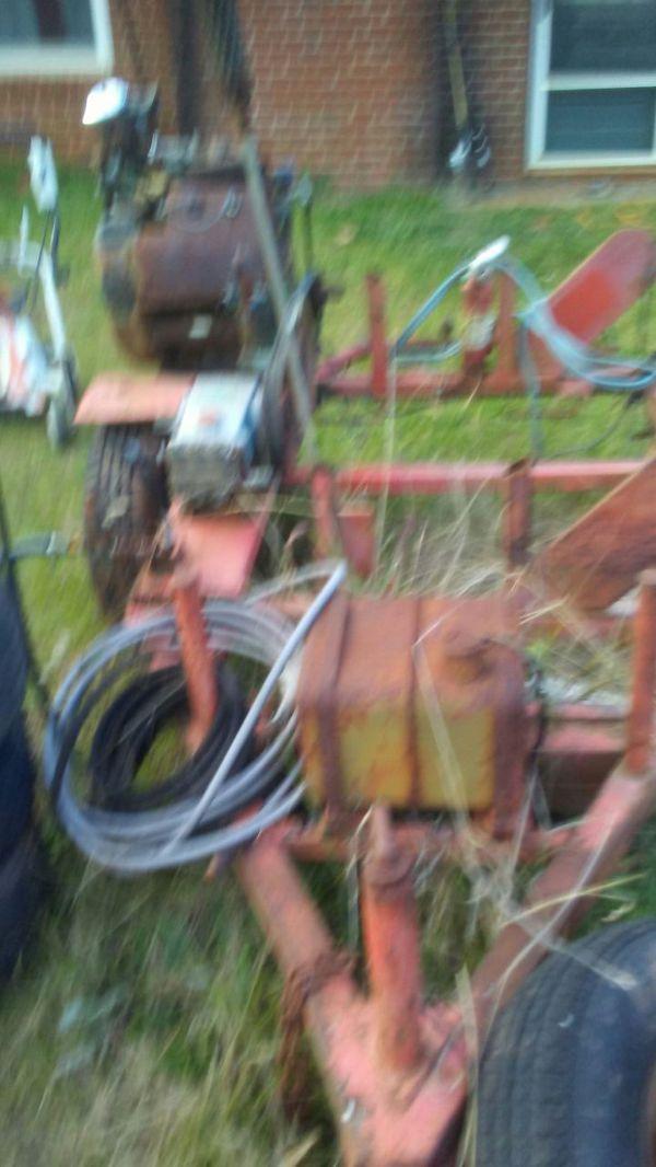 Antique pressure washer