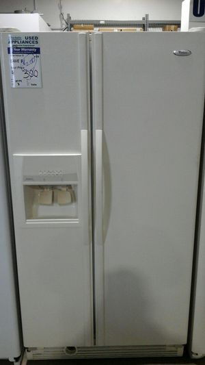 Whirlpool Side by side refrigerator. Affordable82 for Sale in Englewood, CO