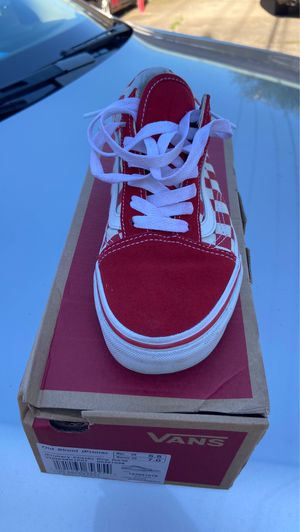 Red Vans 5.5 for Sale in Irving, TX