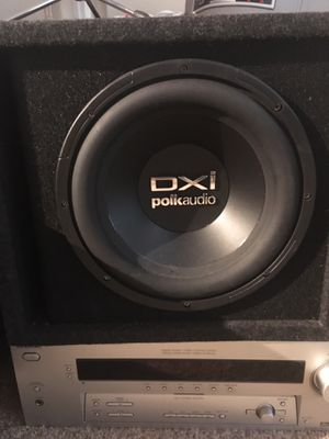 Dxi Polk audio subwoofer for Sale in Tampa, FL