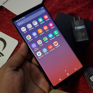 Samsung Galaxy | Note 9 | 128GB | Factory Unlocked | Any Company Carrier | Condition Excellent | Like Almost New... for Sale in Springfield, VA