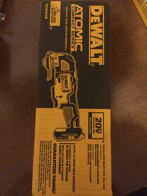 New DeWalt Brushless ATOMIC SERIES MULTI TOOL For Sale for Sale in Mukilteo, WA