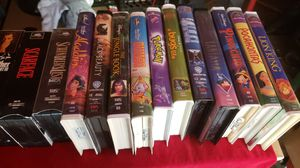 VHS movies for Sale in Madera, CA