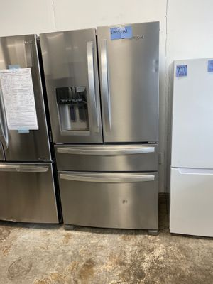 WE DELIVER! Whirlpool Refrigerator Fridge Wifi Enabled Fingerprint Resistant #777 for Sale in Levittown, PA