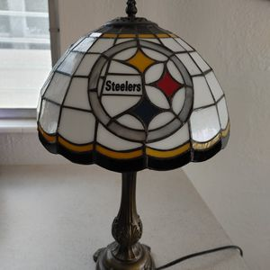 Steelers Stained Glass Lamp for Sale in St. Petersburg, FL