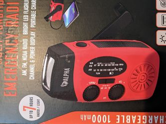 Crank Powered Radio for Sale in Silver Spring,  MD