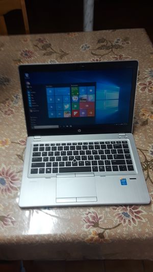 hp elitebook folio business grade laptop fast i5 thin light weight for Sale in Baltimore, MD