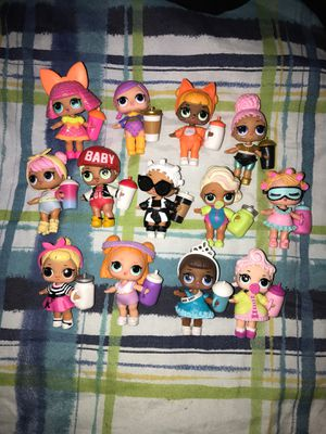 13 random lol surprise dolls! for Sale in Silver Spring, MD