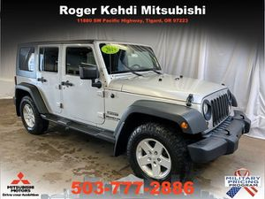 2010 Jeep Wrangler Unlimited for Sale in Tigard, OR