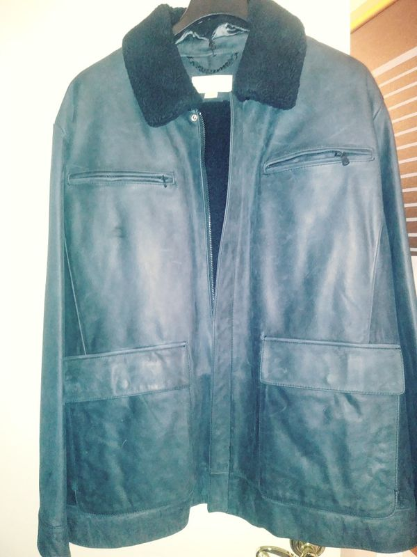 Brand new Michael Kors heavy washable/water resistant suede jacket 3 X
