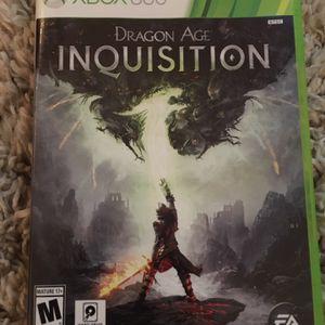 XBox 360 Dragon Age Inquisition for Sale in Clovis, CA
