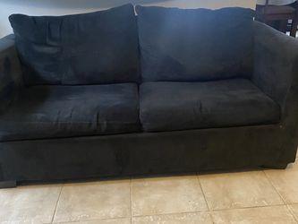 Black Sleeper Sofa for Sale in Houston,  TX