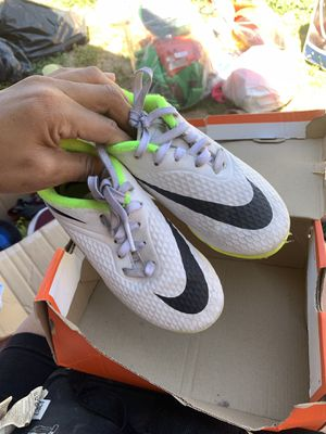Indoor kids soccer shoes for Sale in Stockton, CA