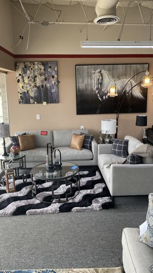No Credito Necesito New Modern Sofa and Love Seat SET with Pillows 6H for Sale in Euless, TX