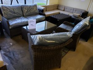 New 4pc outdoor patio furniture set tax included delivery available for Sale in Hayward, CA