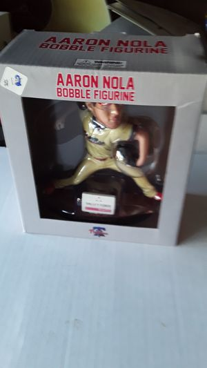 Aaron NOLA bobble figurines. 3 . for Sale in Philadelphia, PA