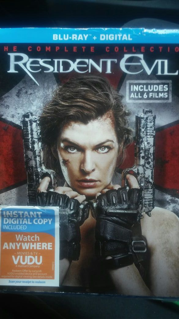 Resident evil complete collection