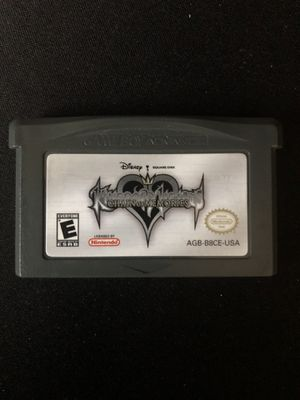 Kingdom Hearts Chain of Memories for GameBoy Advance for Sale in Riverside, CA