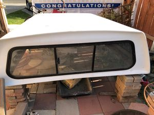 Camper shell fits to a 2002 to 2008 short bed Dodge Ram pick up missing rear window vita brand best offer for Sale in Riverside, CA