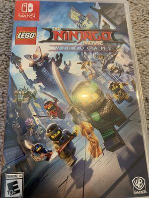 Nintendo Switch LEGO Ninjago Game for Sale in Everett, WA