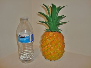 $2 plastic pineapple for fruit decor basket for Sale in North Las Vegas, NV