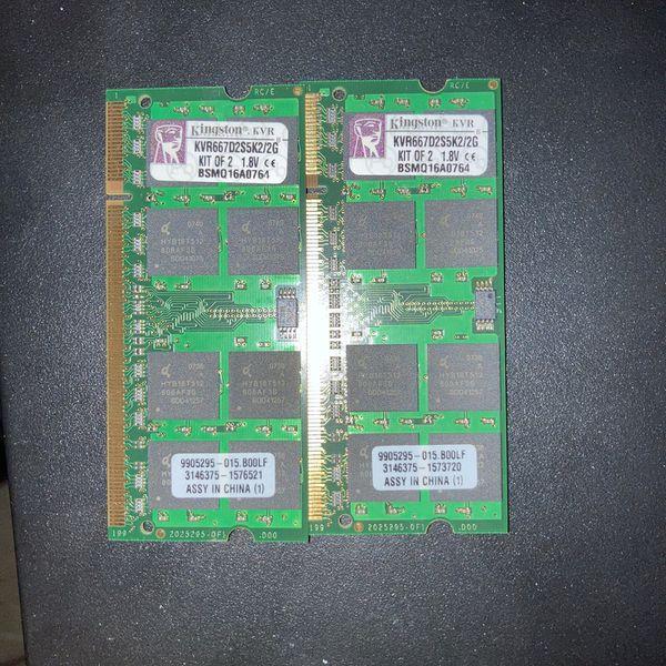 Kingston Kvr667d2s5k2 2GB