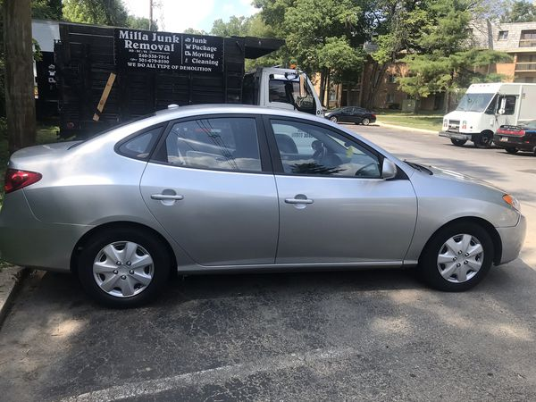 Am selling my Hyundai Elantra 2008 , 100,950 as millage.... for $ 3500. I did the state inspection (MD) for the car already.