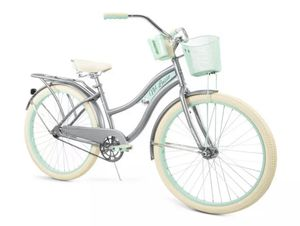 """Huffy, Nel Lusso Classic Cruiser Bike with Perfect Fit Frame, Women's, Gray, 26"""" for Sale in Las Vegas, NV"""