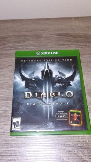 Diablo 3 Reaper of Souls Xbox One for Sale in Cleveland, OH