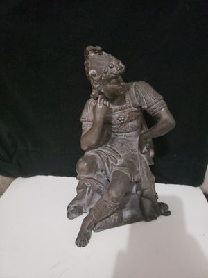 Antique statue. Antique Alexander the great figure for Sale in Los Angeles, CA