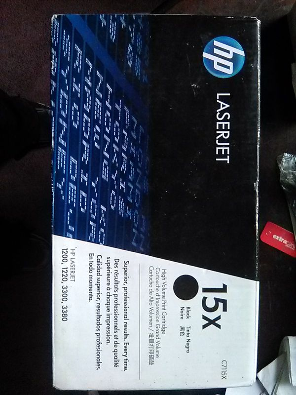 HP toner cartridge New