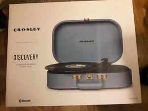 Crosley discovery 3-speed portable turntable for Sale in Columbus, OH