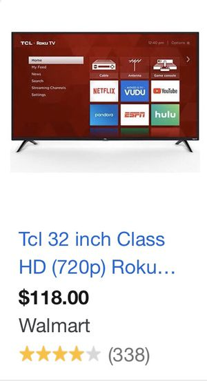 TCL roku tv for Sale in Round Rock, TX
