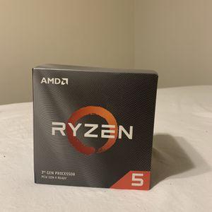 AMD Ryzen 5 3600X for Sale in Riverside, CA
