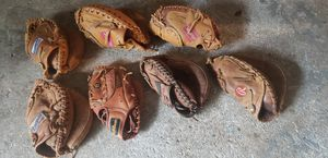 BASEBALL EQUIPTMENT Rawlings * Cooper * Wilson Catchers and 1 infield Glove(s) for Sale in U SADDLE RIV, NJ