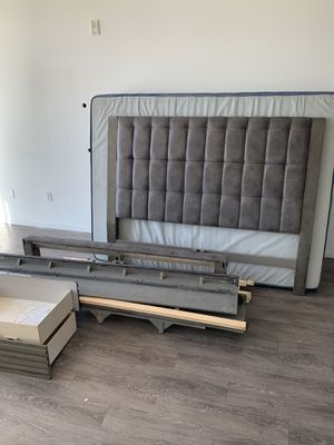 Queen Bed and Bed Frame for Sale in Bethlehem, PA