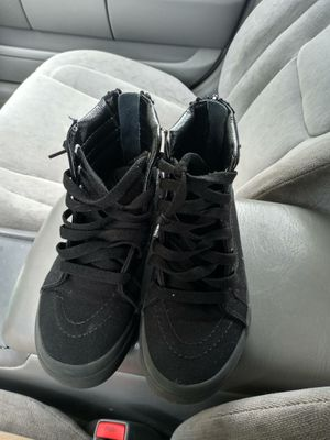 Size1 all black vans for Sale in New Britain, CT