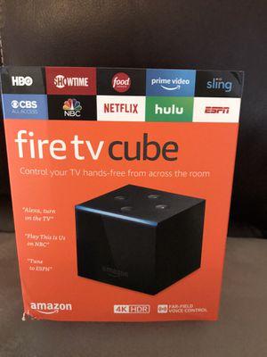 Amazon fire tv cube 4K for Sale in Miami, FL