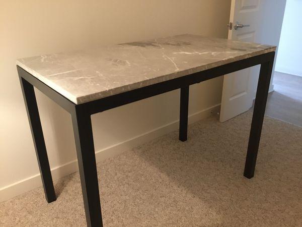 Crate & Barrel High Table