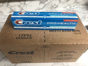 Crest Pro Health Toothpaste ~ A Box Of 25 for Sale in Calabasas, CA