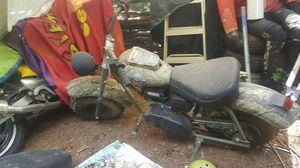 MASSIMO Warrior200 SuperSize 196CC Camo Mini Moto Trail Bike MX Street for Kids and Adults, for Sale in Prince George, VA